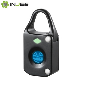 Portable Electronic Bags and Luggage Biometric Recognition Smart Fingerprint Lock Finger print Padlock