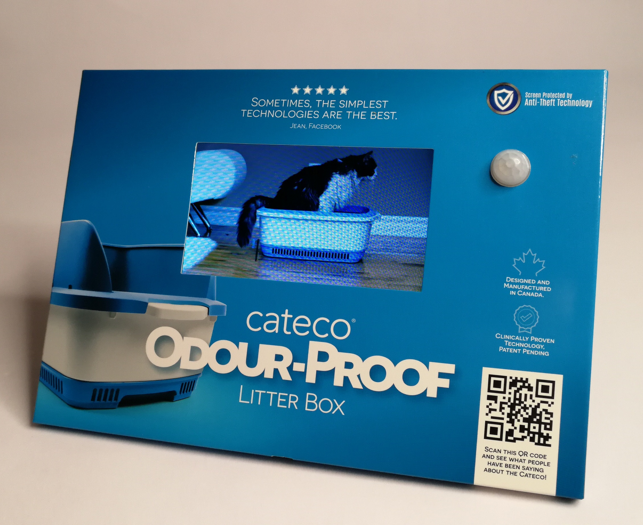 High Quality LCD Video 7 inches Screen Video Brochure