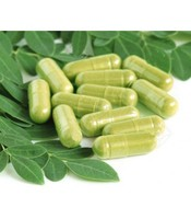 500mg Slimming Weight Loss Moringa Leaf Powder Capsules