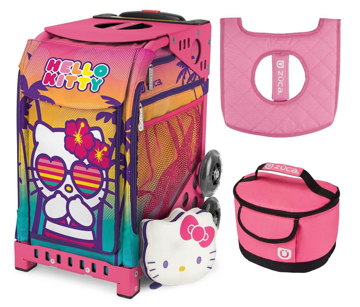54f679eb0b4866 Get Quotations · Zuca Hello Kitty Beach Bum Sport Insert Bag w Pink Frame
