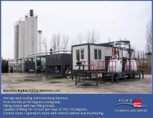 Bitumen big bag filling machine