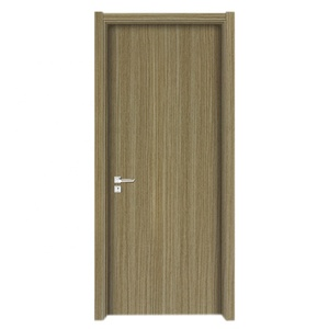 Modern design ecological MDF wooden door interior room door