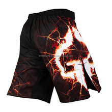 Custom made vechtsporten uniform gesublimeerd crossfit mma shorts