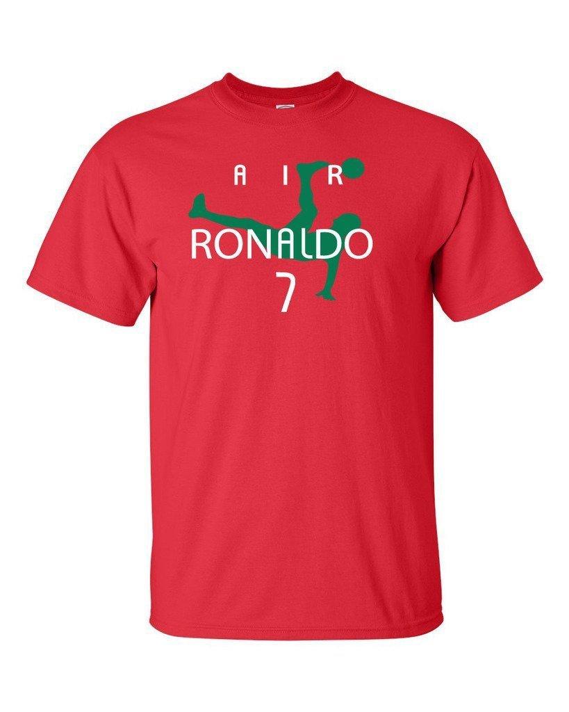 7f0eff9de66 Get Quotations · KING THREADS Cristiano Ronaldo Portugal Air Ronaldo  Portugal T-Shirt