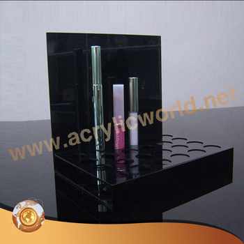 Clear Acrylic Lipstick Holder Display Rack Cosmetic Makeup Organizer Case