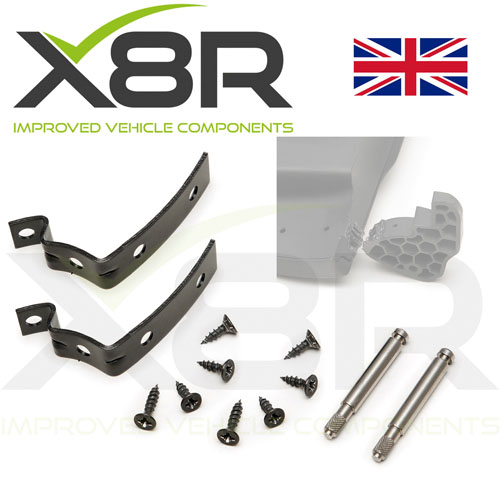 Glove Box Lid Hinge Pins Snapped Repair Set Brackets for Audi A4 S4 RS4 B6 nice