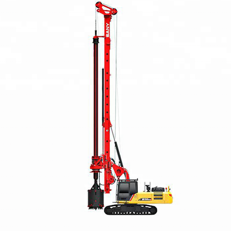 SANY SR205C Hydraulic Mobile Rotary Drilling Rig Well Drilling Machines