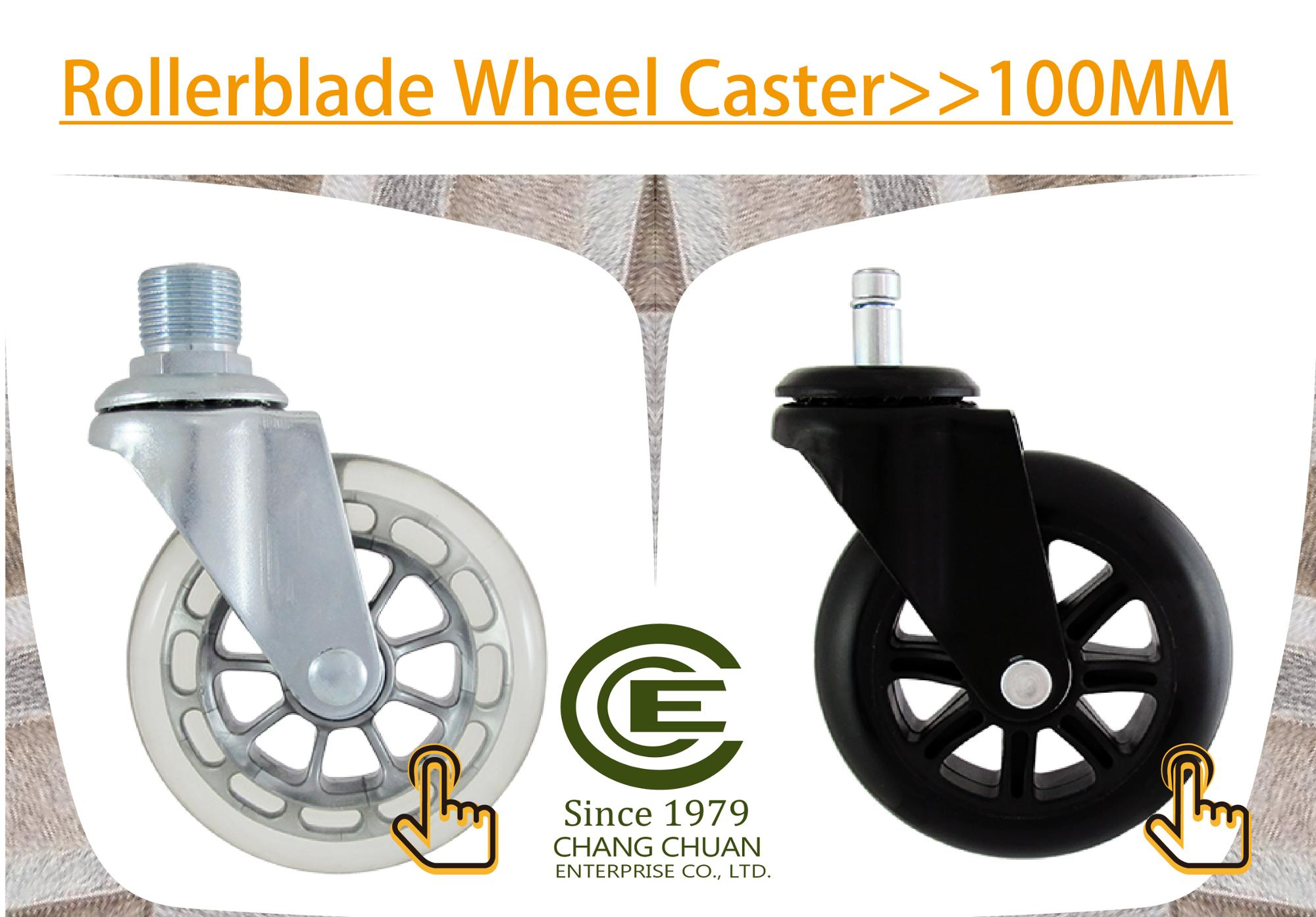 CCE Caster New Flat Wheel 3 Inch Caster for Kitchen Accessory