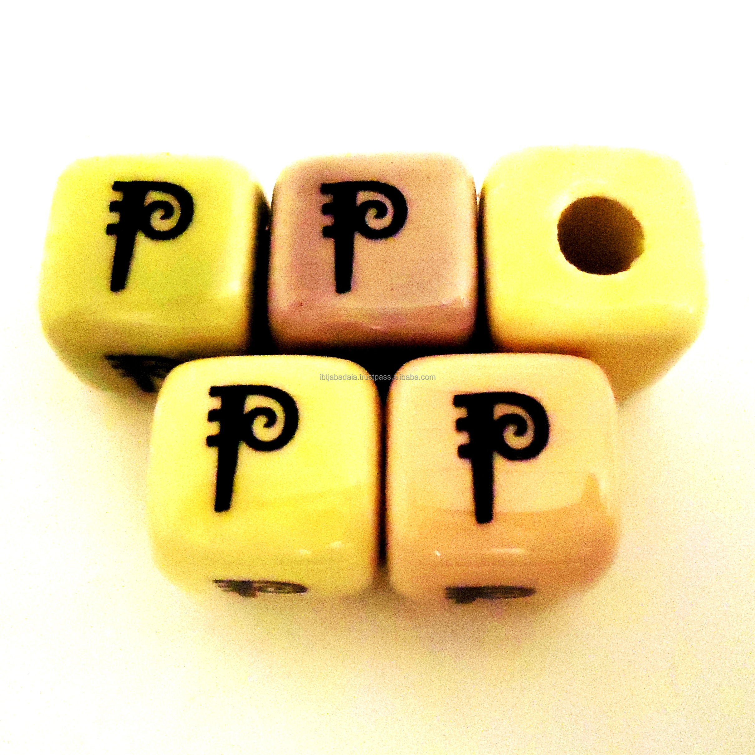 648e76802047b Ceramic Letter Beads For Jewelry Making,Alphabet Pastel Color Ceramic P  Letter - Buy Unique Beads For Jewelry Making,Cube Alphabet Letter  Beads,Single ...