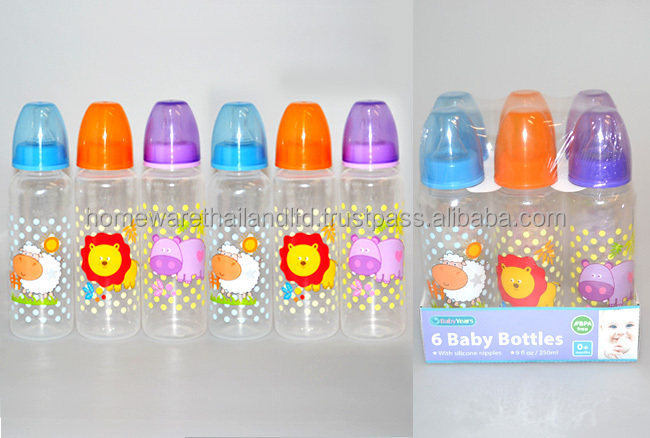 40pk 40ml40oz Decorated Round Baby Bottles Buy Baby Feeding Bottle Extraordinary Decorated Baby Bottles