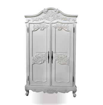 Attrayant Home Furniture Wardrobe Rococo Style   White French Furniture Wardrobe  Indonesia