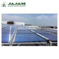 Hot U Pipe Solar Collector With Evacuated Tubes For Solar Water Heater