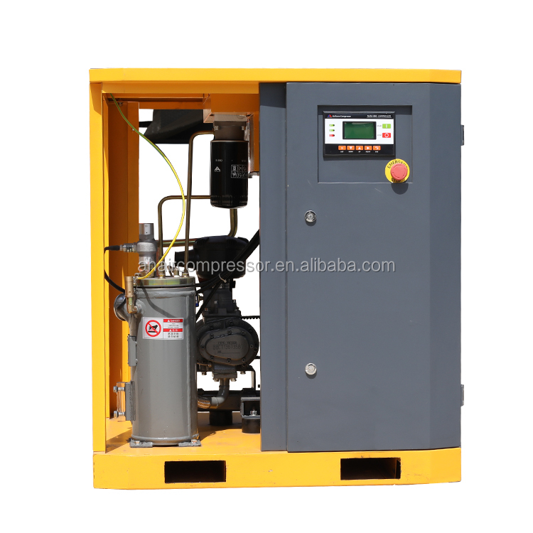 Hot koop Mini 8 bar 5.5 KW 7 HP AC Schroef Compressor 5kw Met Service Manual