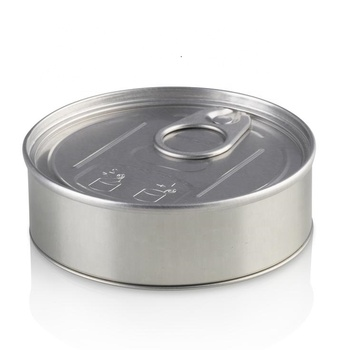 Tin - Pressitin Tuna Can,Body And Base With Plastic Cover - Self Seal By  Hand - Easy Open Lid 100ml Eu Stock - Fast Delivery - Buy Pressitin