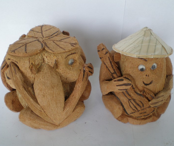 Coconut Monkey Handicrafts From Vietnam Buy Gift Souvenir Brand