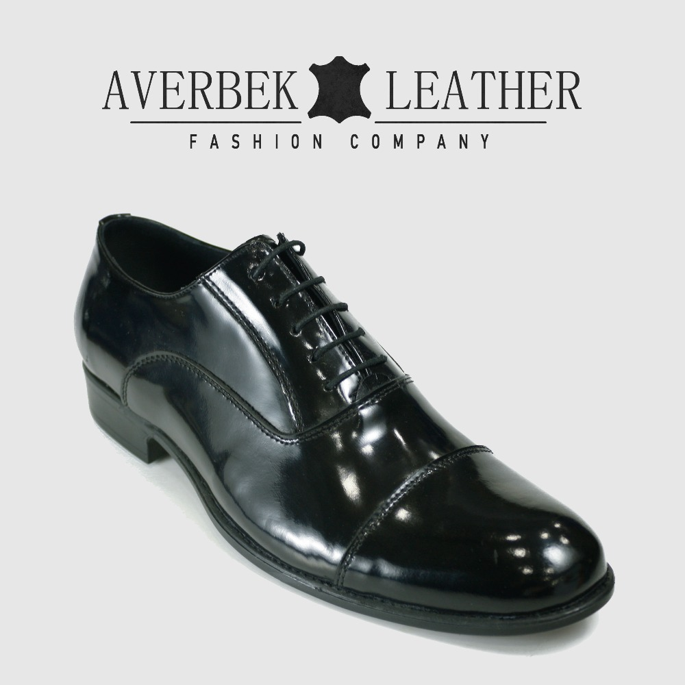 Shoes Hand Shoes Genuine Leather Black Men High Dress Quality Made Oxford vCwqX6IxXH