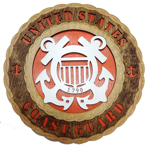 Blank wooden shield unfinished wood trophy plaque in Uniquely Finished Feature
