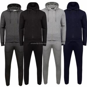 Men's Fleece Jog Set Track Suit for Unisex Cheap Jogging set Fleece Sweat Set Jacket and Trousers