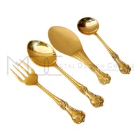 Gold Modern Appreance Stainless Steel Cutlery Set
