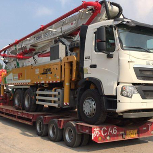 52m XCM brand new truck mounted concrete pump HB52K to Uzbekistan