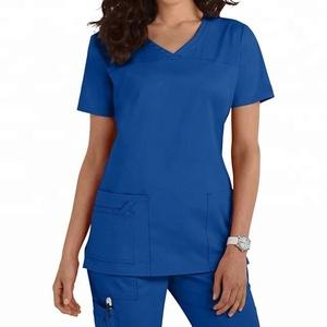 Women Premium Medical Nrsing Scrub Top