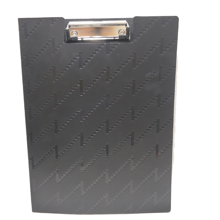 Audited factory new design Plastic A4 PP folding clipboard with cover