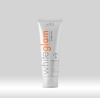 White vagina cream