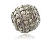 Wholesale Sterling Silver Spacers Beads Pave Diamond Finding Jewelry