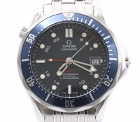 Used Mint Condition high Brand Used OMEGA Seamaster GMT SS Blue Watches for bulk sale. Many brands available.