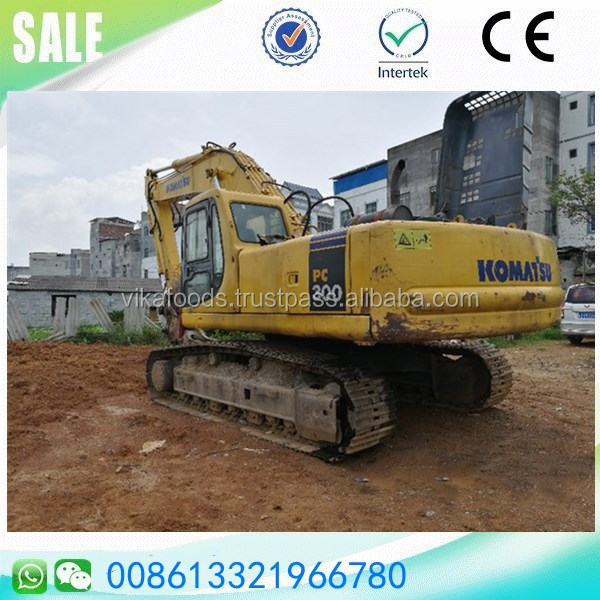 Used digger komatsu pc300-6 30t big large mining high standard excavator sale
