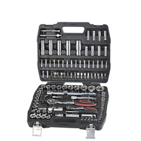 "108PCS 1/2"" 1/4"" GERMANY FORCE MULTIFUNCTIONAL MECHANICAL SOCKET SET HAND TOOL SET"