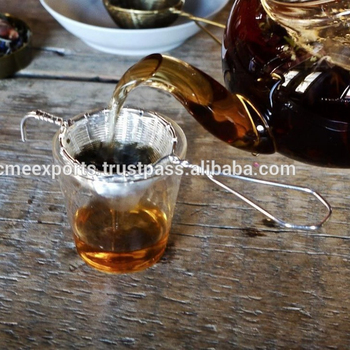 Antique and silver plate woven Tea strainers | Stainless Steel Strainer