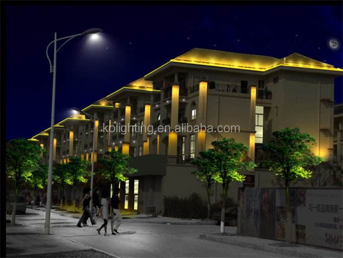 Rgb Dmx512 Led Exterior Building Outline Facade Lighting