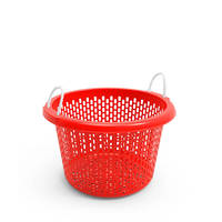 Agricultural Nestable HDPE Plastic Storage Basket crate