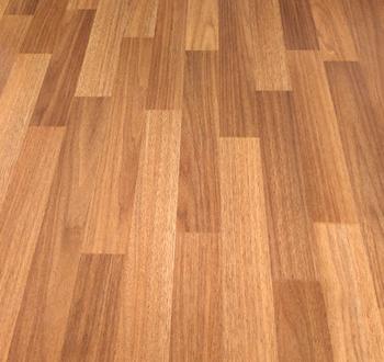 Wood Plank Sheet Flooring Very Strong