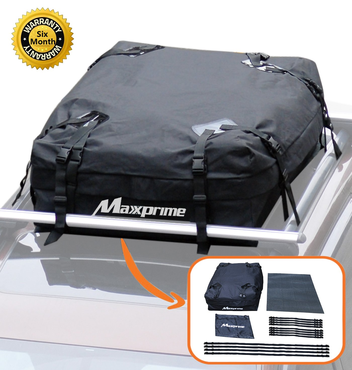 Non-Slip Roof Rack Pad Work with CZC AUTO Car Roof Cargo Carrier Protective Mat