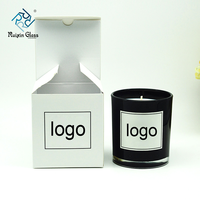 Eco Friendly Glass Candle Jar With Metal Lids,Custom Candle Jar Supplier