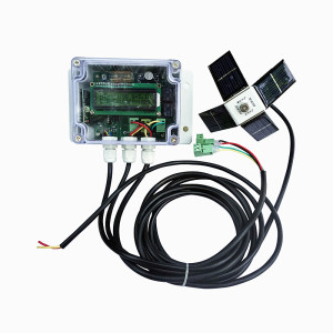 Intelligent 12V/24V dual axis solar tracker price