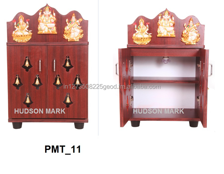 Delicieux Pooja Cabinet With Bells   Buy Pooja Mandir,Pooja Shelf,Home Temple Product  On Alibaba.com