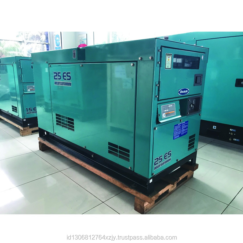 Silent Diesel Generator Denyo Dca-25esk - Buy Generator Set,Diesel Generator,Silent  Japan Denyo Generator Product on Alibaba.com