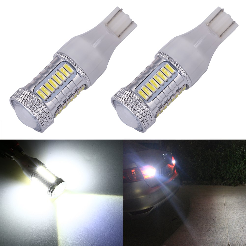 Philips 912-13W 12v T5 W2.1X9.5D Wedge Base Automotive Lamp 2 pk