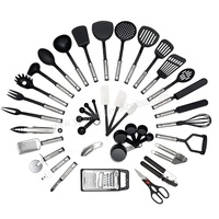 Wholesale nylon kitchen cooking tools,cooking tools nylon kitchen,best selling nylon cooking kitchen gadget set