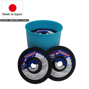 Kure Round Edge Diamond Depressed Center Grinding Wheel for Carbide