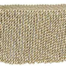 6 inch lange | dawn, <span class=keywords><strong>perkament</strong></span>, pebble, ivoor bullion fringe trim