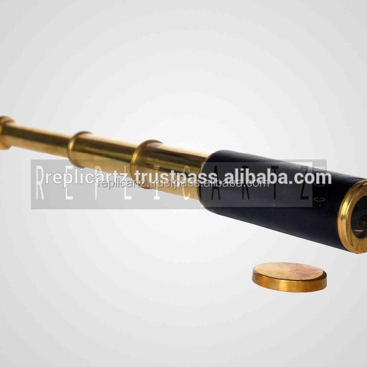 Maritime Maritime Telescopes Alert Vintage Antique Leather Spyglass Gift Brass Telescope Nautical Marine Maritime Perfect In Workmanship