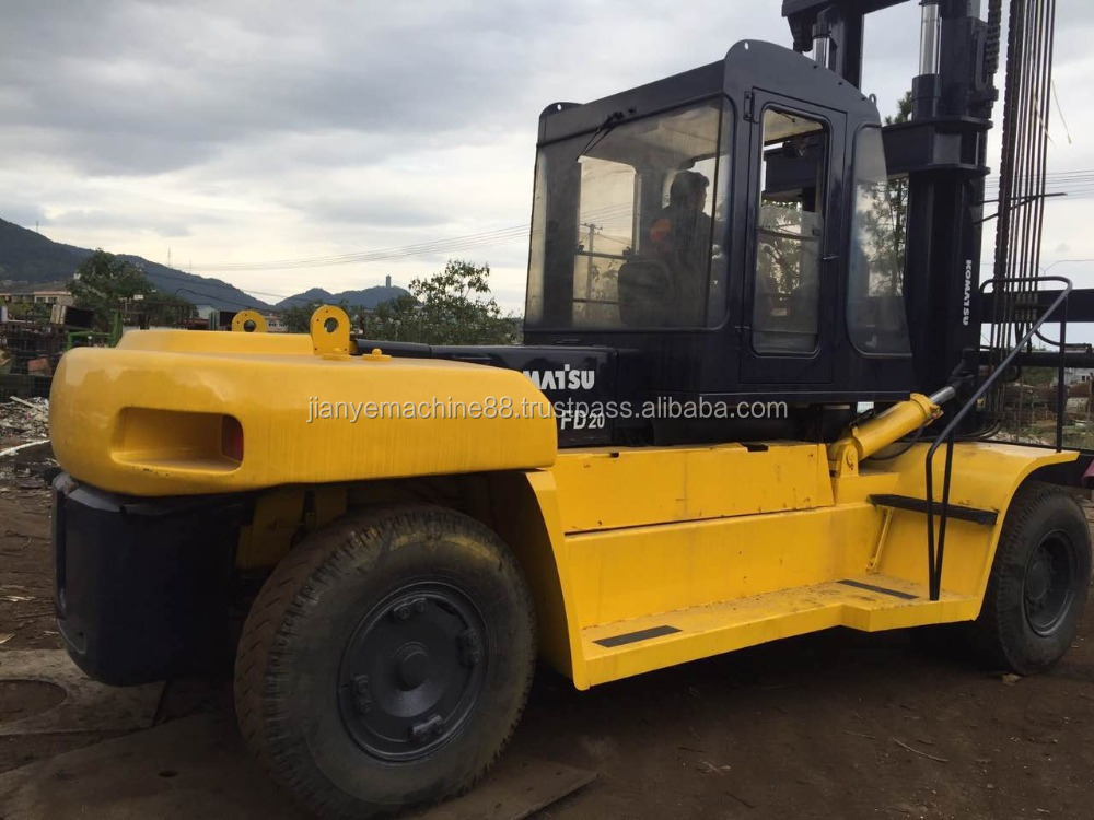 Used Japan Originated Komatsu FD160 forklift for Sale