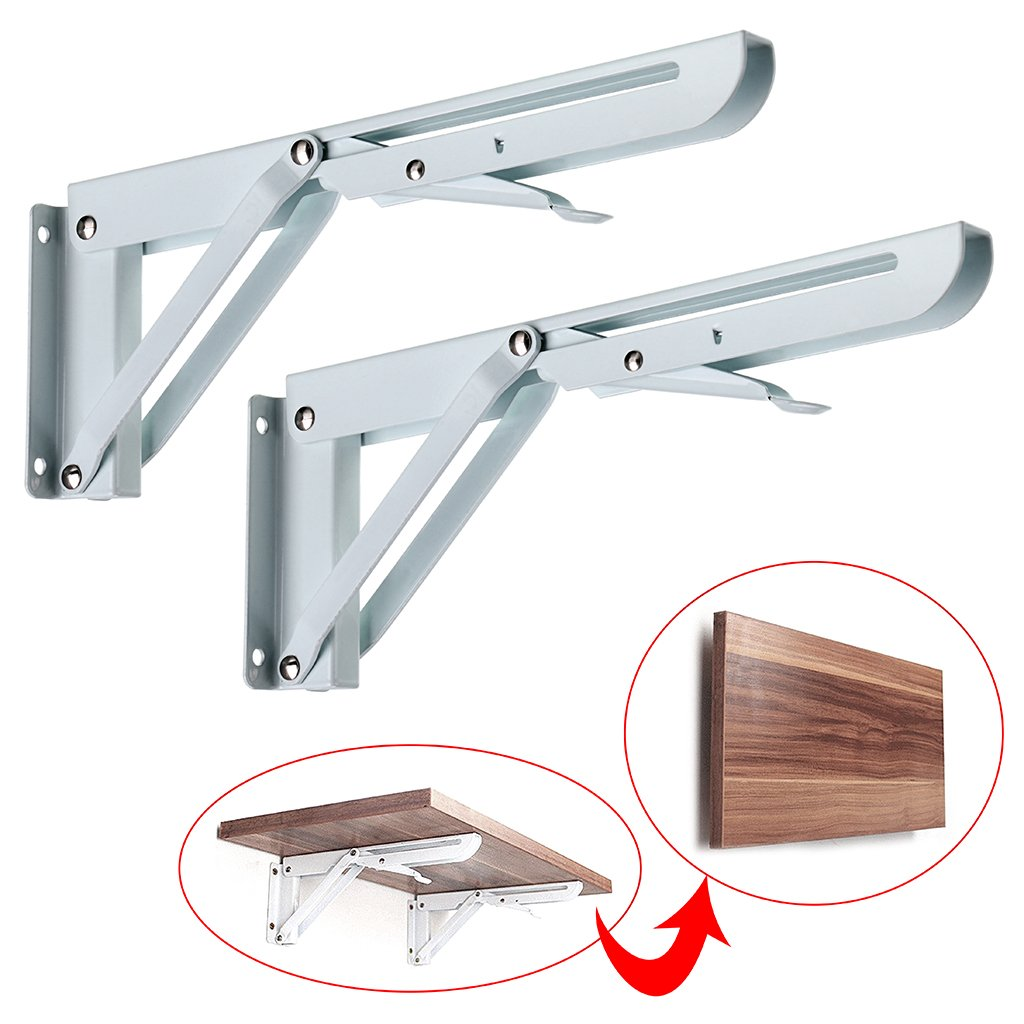 Home Furnishing Heavy Duty Stainless Steel Shelf Bracket 11 Folding Table Seat Brackets 250kg Load Atv,rv,boat & Other Vehicle