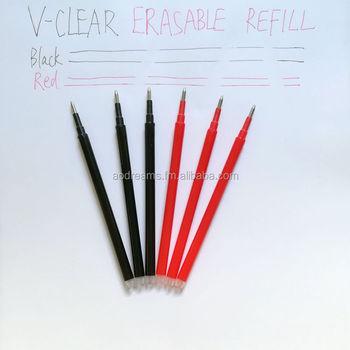 Pilot FriXion Black Erasable Clicker Pen Refills, Pack of 3 - PI35596