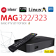 MAG 322/323 Latest Original Linux IPTV/OTT Box Infomir Mag 254 - WITH 24 MONTHS OFFICIAL WARRANTY.