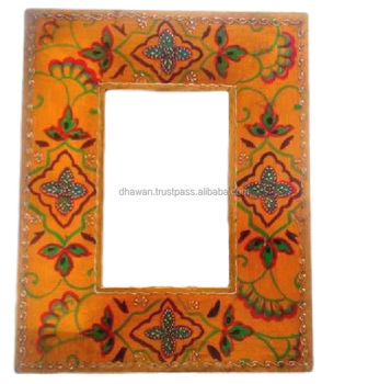 Handcrafted Handpainted Wooden Photo Frames For Picture Size 4 X